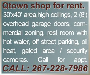 Quakertown Shop For Rent